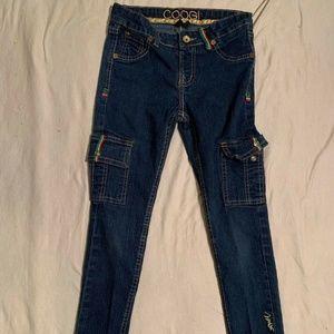 COOGI Denim Jean Girl Pants Size 8 Eight Skinny